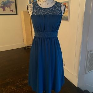 HD in Paris Teal dress Anthropologie size 0 / XS